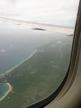 هوتل ريو بامبو: The view coming in