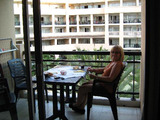 Pierre & Vacances Residence Cannes Beach: balcon