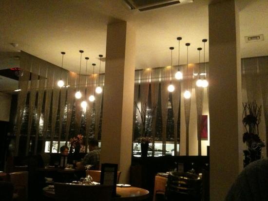 The Office Bar & Restaurant: trendy restaurant area