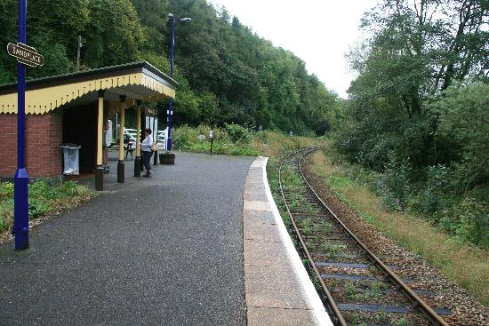 Polraen Country House Hotel: The Sandplace Station just up from the hotel