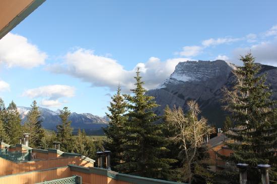 ดักลาสเฟอร์ รีสอร์ท & ชาเลทส์: View from our 4th floor loft suite