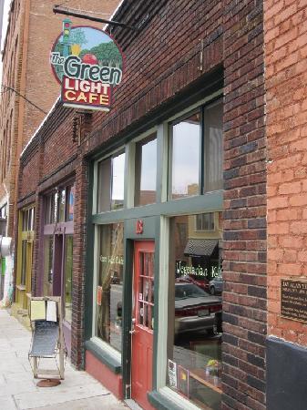 Green Light Cafe: Outside of Cafe