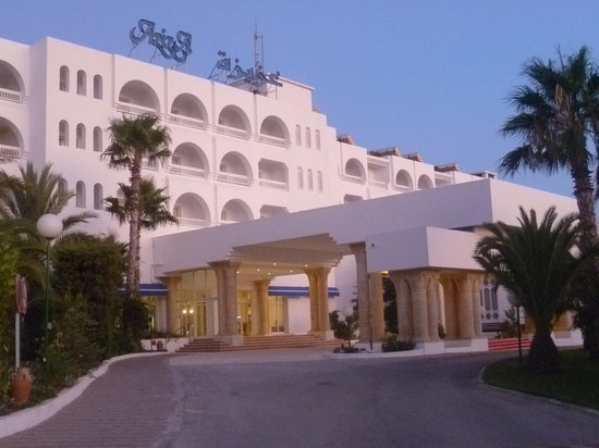 SENTIDO Aziza Beach Golf & Spa : Aziza entrance