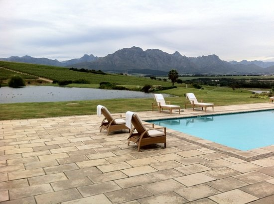 Asara Wine Estate & Hotel: Life can be tough in Africa...