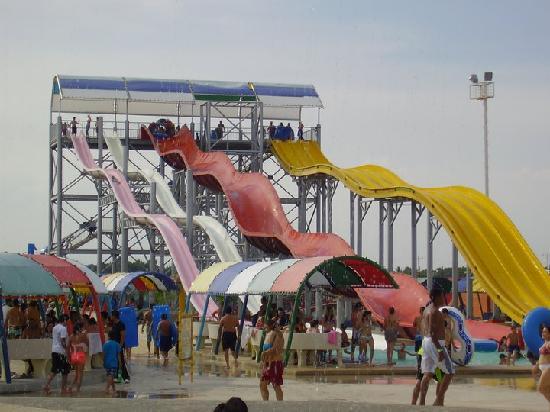 aquaventurapark: toboganes