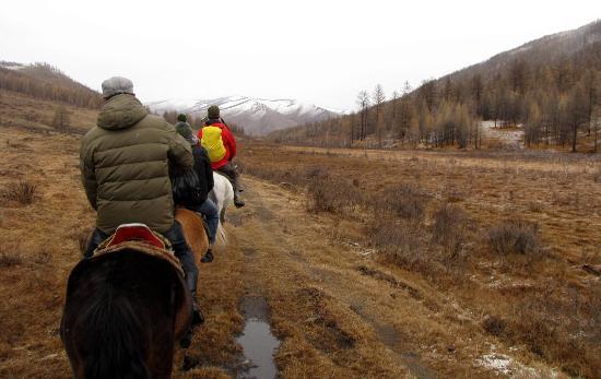 Gorkhi-Terelj National Park: horse riding in Terelj