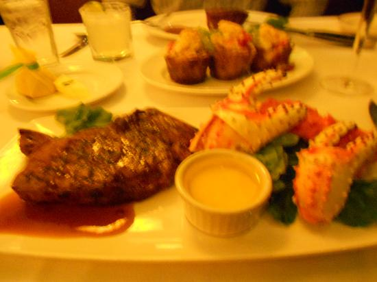 The Capital Grille : my meal