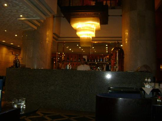 Sheraton Casablanca Hotel & Towers : Lobby bar agradável e com bons drinks