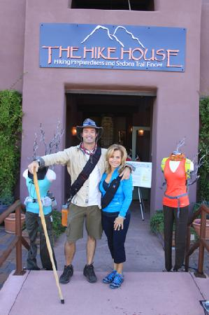 The Hike House: Greg and Gracie Stevenson's Hike House is the focal point of Sedona's active day-hike scene.
