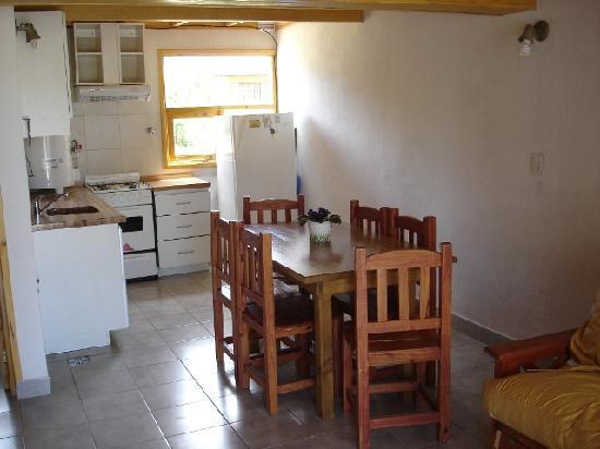 Cabanas Luna de Ayelen: Cocina
