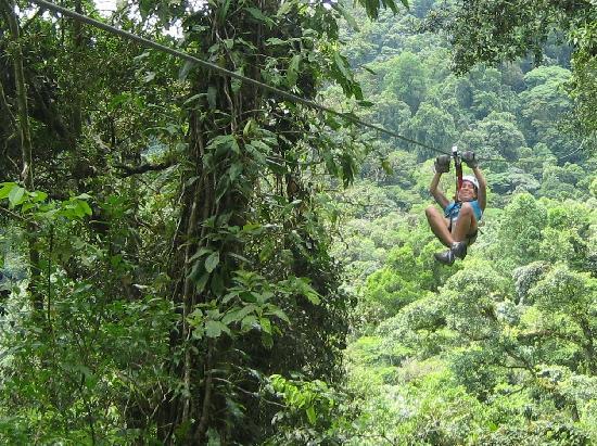 Pura Vida Tours: Sky Trek ziplining -- awesome!