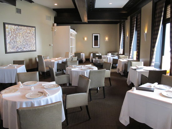Restaurant Initiale: Inside view