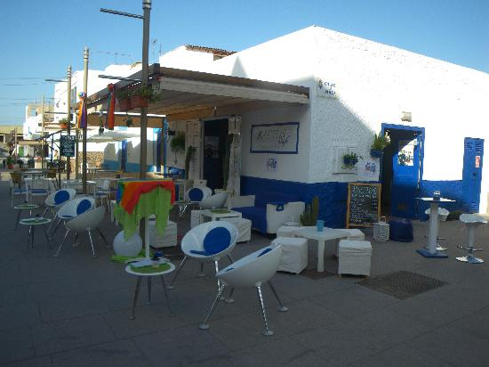 Kactus Café: il Kactus visto da fuori...