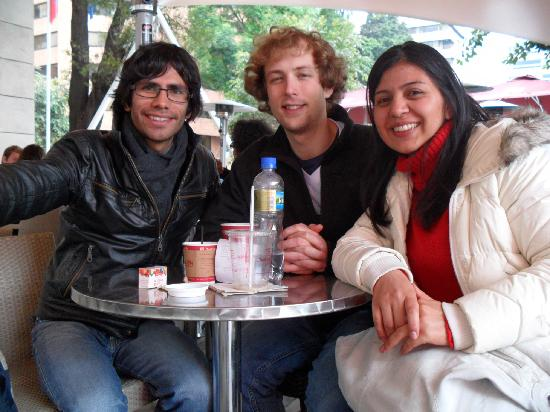 Language Exchange in Bogota: Free chat with colombian people