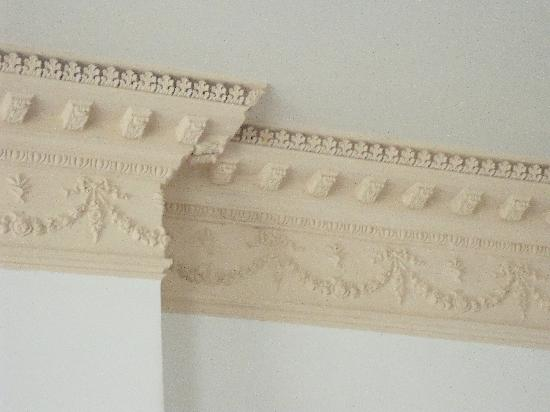 Riversdale House Museum: Moldings