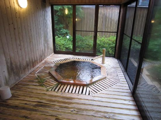 Ryotei Takano : これが 貸切の 「露天?」 風呂