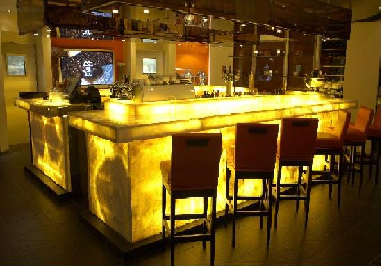 Restaurant L'Ô : Bar Lounge