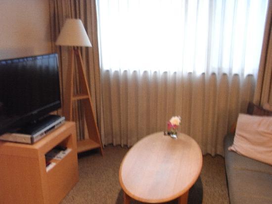 ホテル・ザ・エム インソムニア 赤坂, プリモのダブルルーム(リビング部)