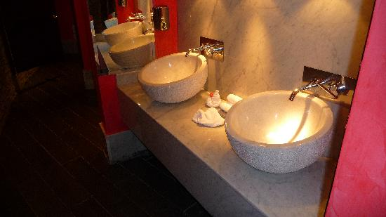 Iberostar Grand Hotel Bavaro: One of the many lavish bathrooms