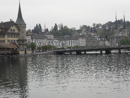 Lucerna, Svizzera: old town , lucerne