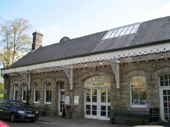 Barter Books: The outside of the bookshop