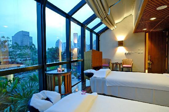 Spa Athénée massage room - 플라자 아테네 방콕 로열 메르디앙 호텔 ...