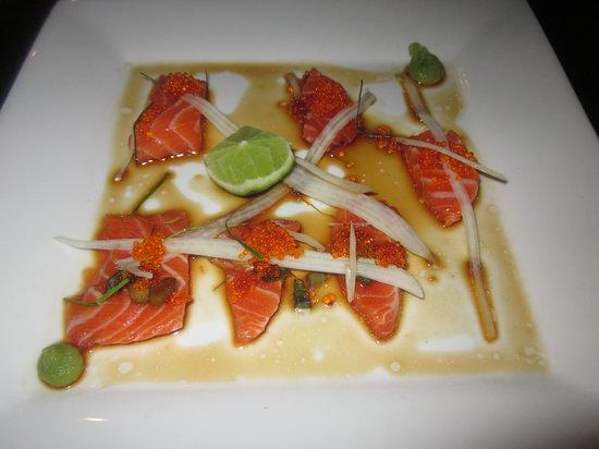 Wild Ginger: sashimi of ocean trout