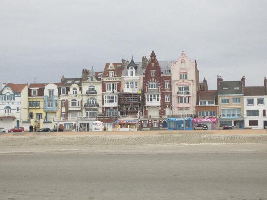 Dunkirk, Frankrike: vue de la plage