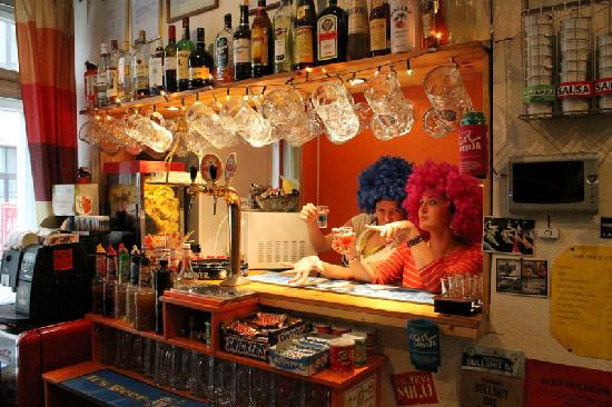 Naughty Squirrel Backpackers: Our Small 24hr Bar