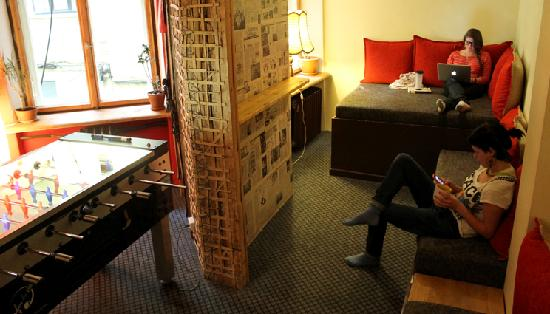 Naughty Squirrel Backpackers: Hostel Chill Out Areas