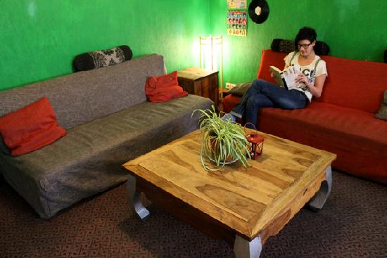Naughty Squirrel Backpackers: Hostel Common Room