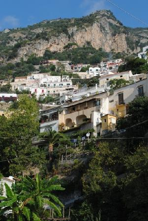 Casa Teresa: a view of Positano