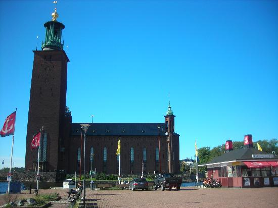 The Hub, Hotel & Livingroom: The Stockholm City Hall building