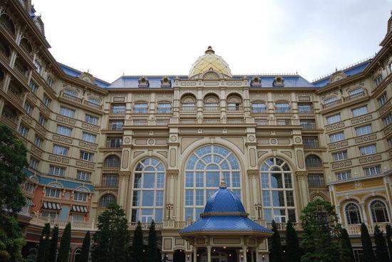Tokyo DisneySea Hotel MiraCosta: パーク側からの部屋