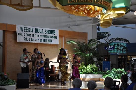 Lahaina Cannery Mall Free Hula Shows: こどものフラ