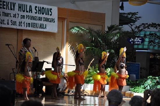 Lahaina Cannery Mall Free Hula Shows: こどものタヒチアン・ダンス