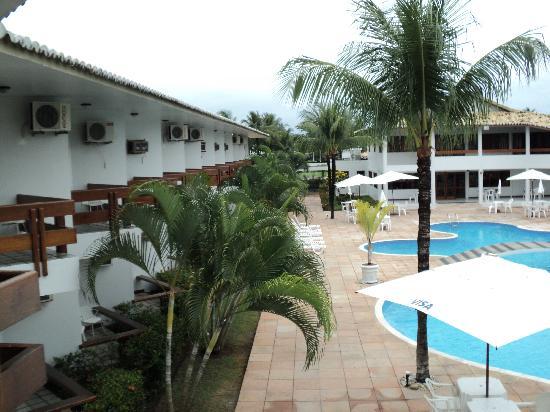 Oceano Praia Hotel: Desde mi habitacion