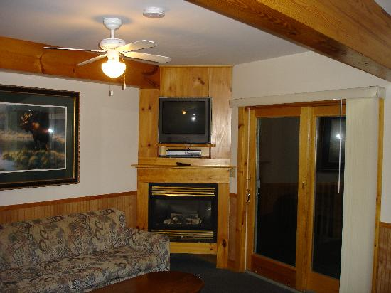 Lazy E Motor Inn: Wohnzimmer