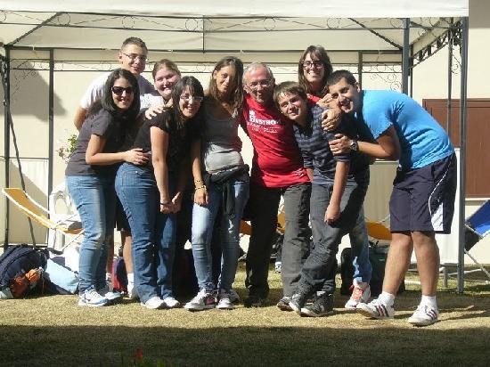 Rifugio Alantino: Ritiro con i ragazzi delle superiori 2 settembre 2011