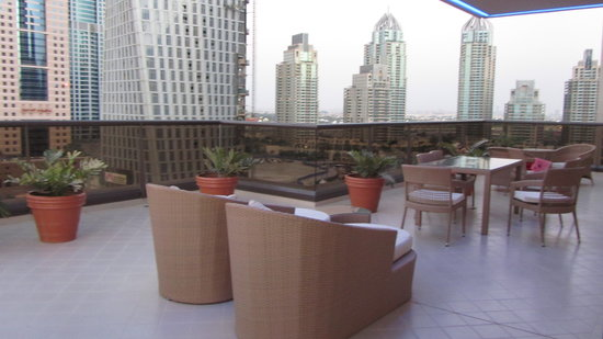Grosvenor House Dubai: terrace