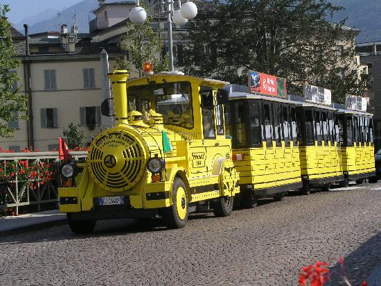 Il Trenino Giallo a Sondrio