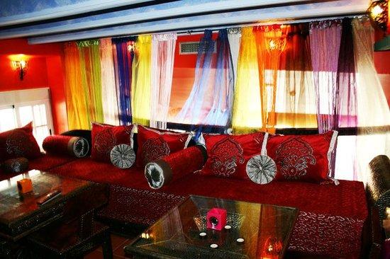 Babel Restaurant: Salón Marroquí
