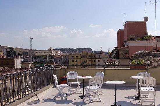 Casa Il Rosario: view from the roof terrace
