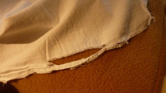 Hotel Dora: frayed linen