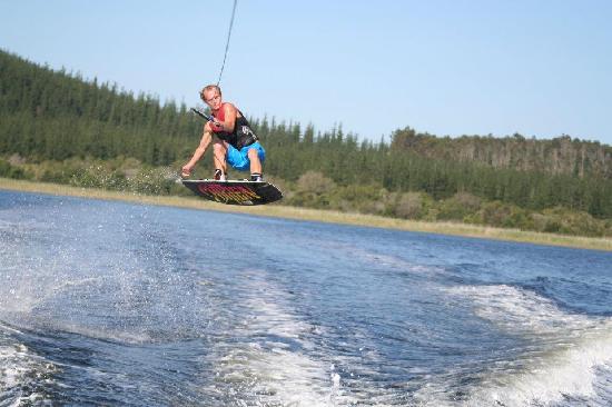 Liquid Grace Adventures: Luke wake-boarding