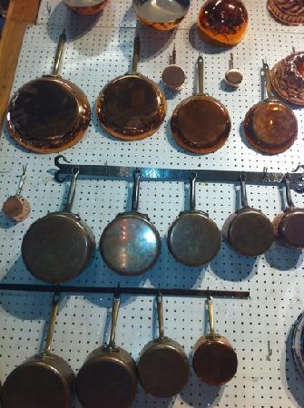 E. Dehillerin: beautiful copper pans