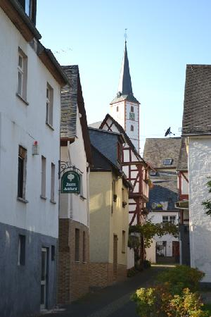 Anker Hotel Gasthaus: The hotel with pretty church behind