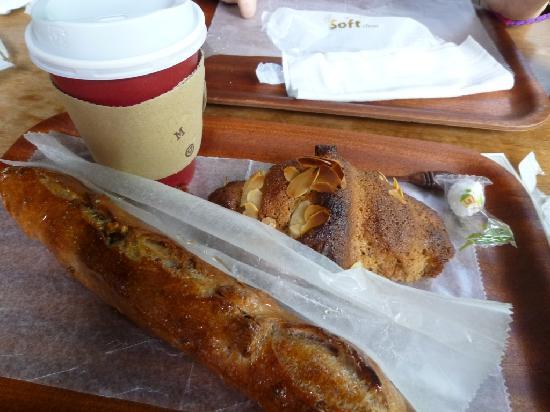 Karuizawa-machi, Giappone: 朝食に選んだパン