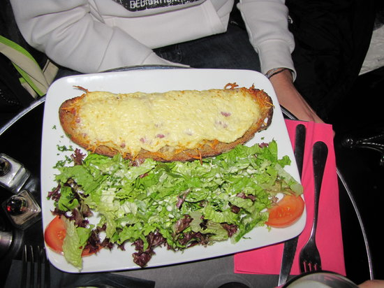 Long Island Bar-Brasserie : croque monsieur