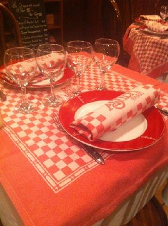 E. Dehillerin: I love the personalized place settings